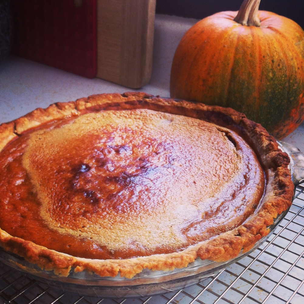 Grandma's Harvest Pumpkin Pie