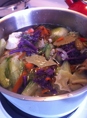 Making Vegetable Stock