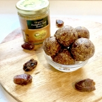 Energy Bites w Dates and Pumpkin Seed Butter