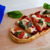Easy Naan Caprese Pizza