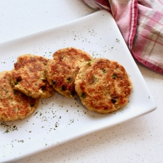 Baby Friendly Salmon Cakes
