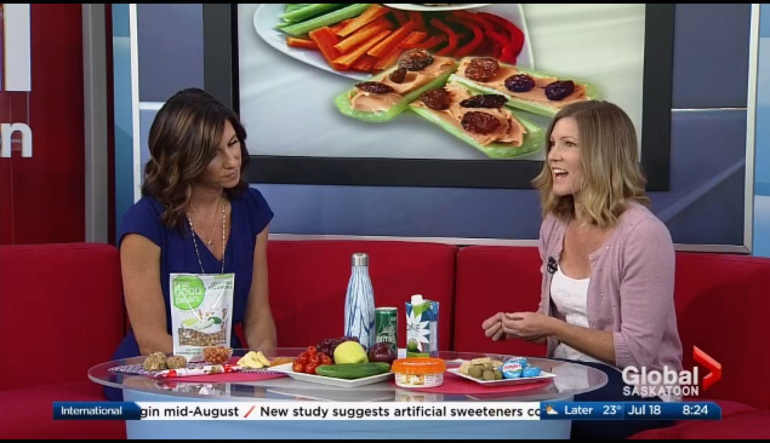 Convenient But Healthy Snacks for your On-The-Go Summer!