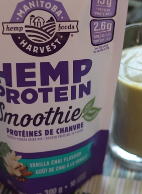 Food Review: Hemp Protein Smoothie Plus Greens