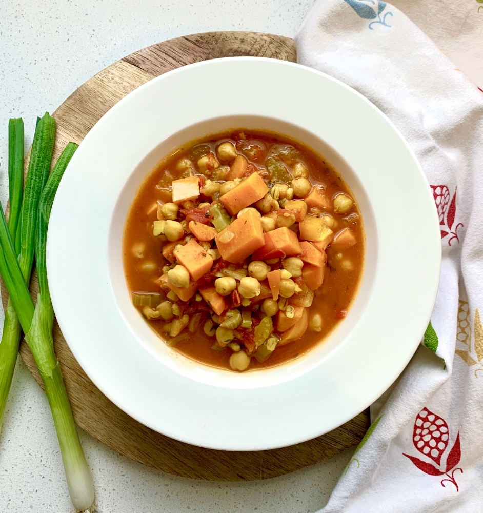 Moroccan-Spiced Vegetarian Stew