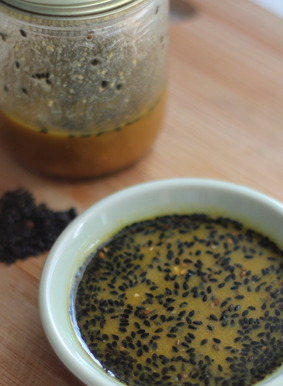 Sesame, Ginger Dressing