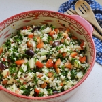 Kale, Barley, & Apple Salad