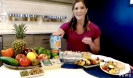 Live from my Kitchen!  Plant Based Eating on Global News Morning