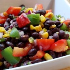 Black Bean Fiesta Salad