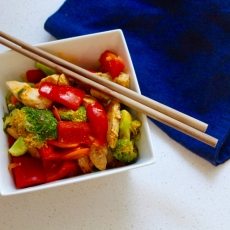 Sesame Ginger Power Stir-Fry